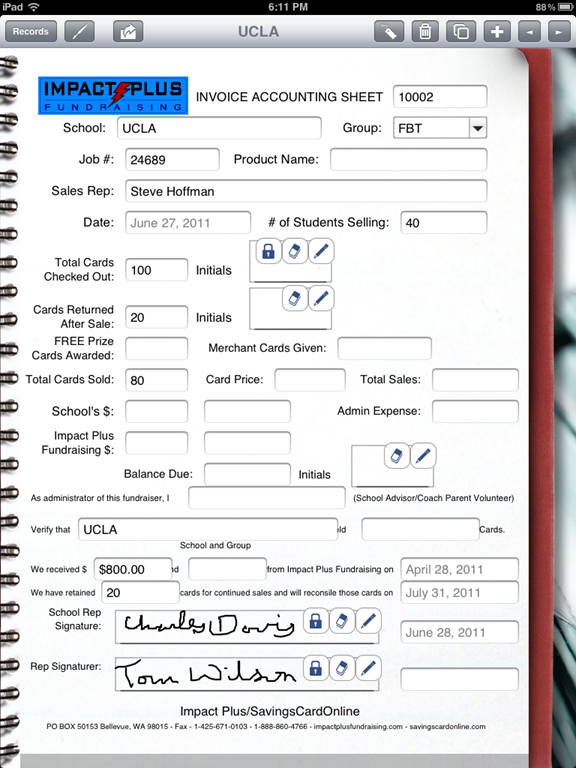 Capturing a Signature on your Form   Form Connections